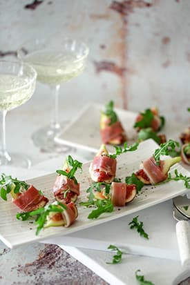Fig, Prosciutto & Gorgonzola Appetizers