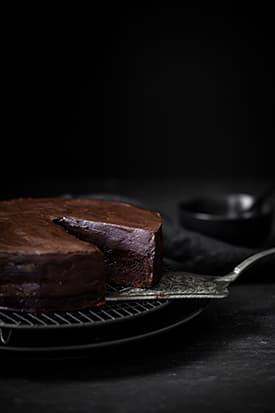 Pedro Ximenez Chocolate Cake & Chocolate Ganache